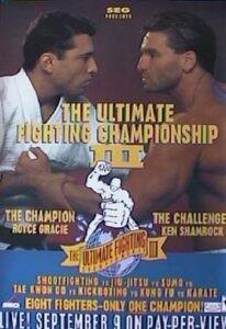 Το πόστερ του UFC 3