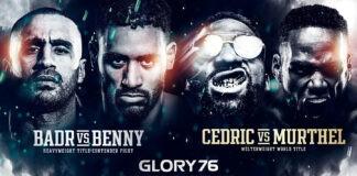 Επιστροφή για τον Badr Hari στο Glory 76