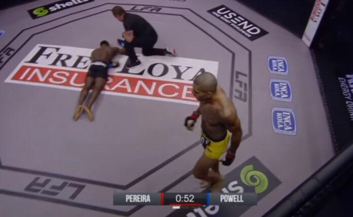 Tρομακτικό KO από τον Alex Pereira