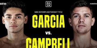 Νέα ημερομηνία για το Garcia Vs. Campbell