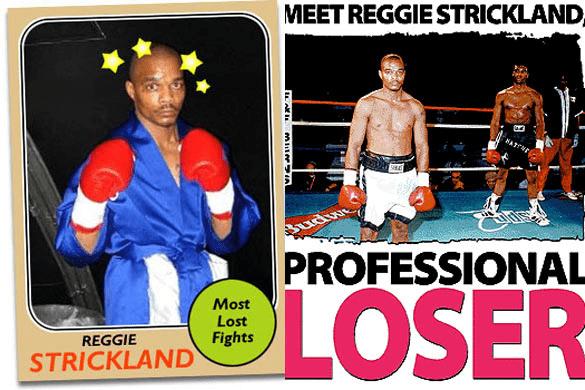 Ο Reggie Strickland