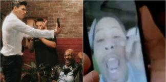 Επικό σκηνικό στο Hotboxin' του Tyson
