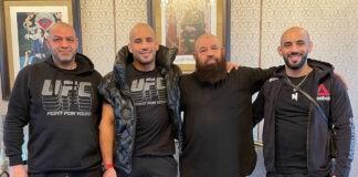 Παρελθόν από το UFC ο Azaitar