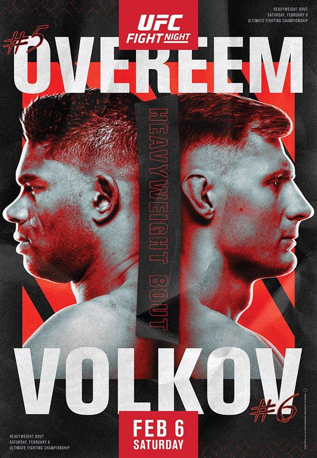 Το poster του UFC Vegas 18